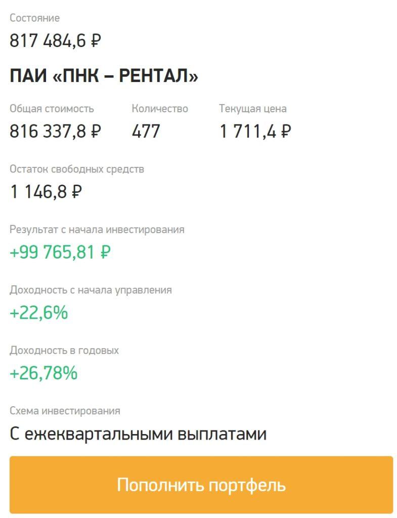 ЗПИФ PNK Rental - мой обзор инвестиций в промышленную недвижимость